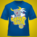 "T-shirt adulti, ""Sitting Bulls"" – taglie dalla S alla XXL, vestibilità americana"