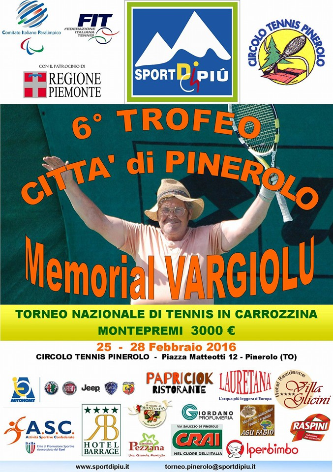 Locandina Trofeo Città di Pinerolo