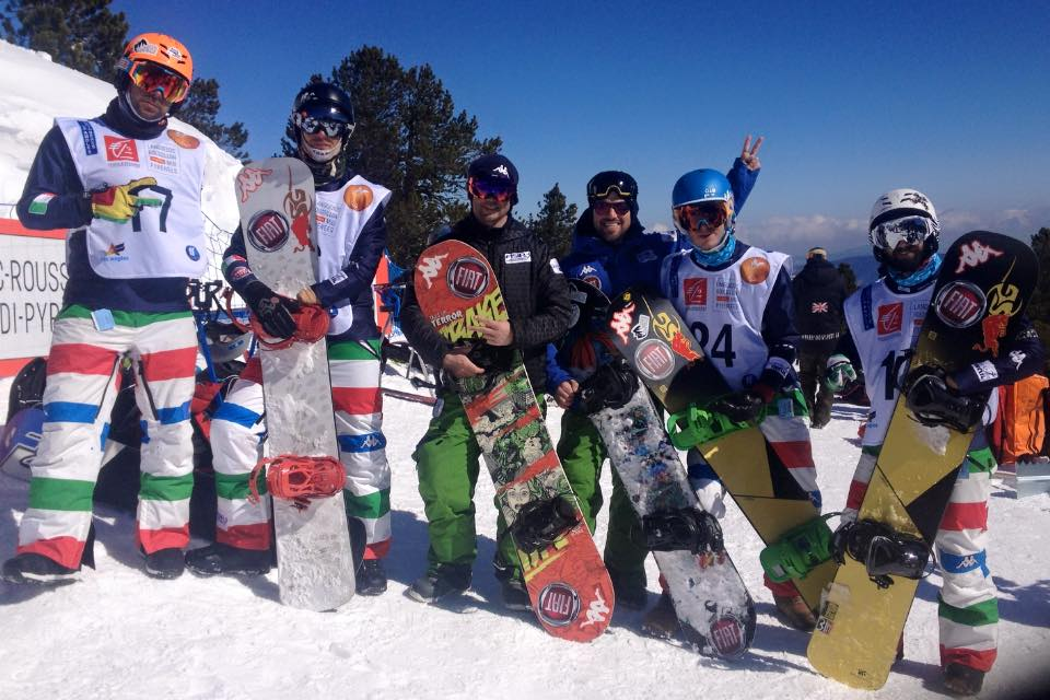 italia snowboard paralimpico