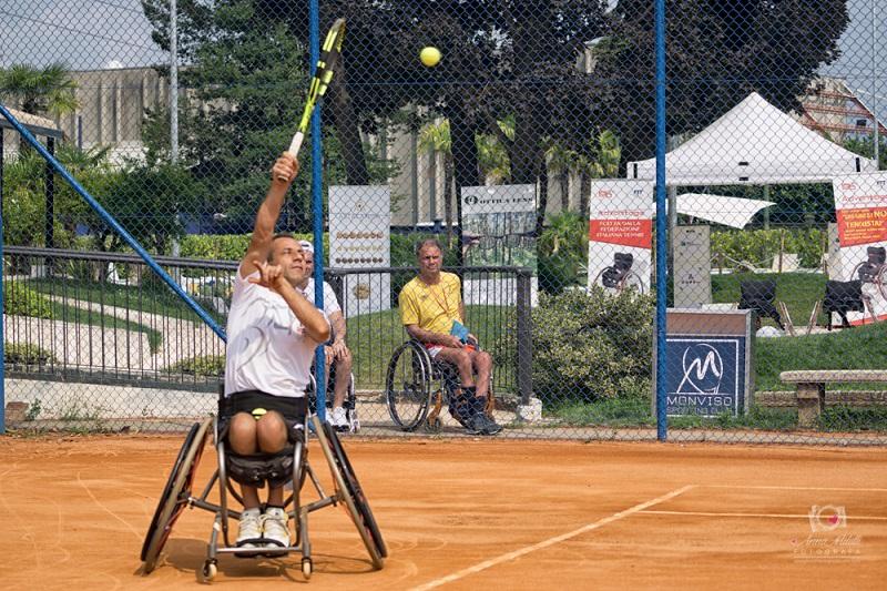 tennis in carrozzina - Fabian Mazzei