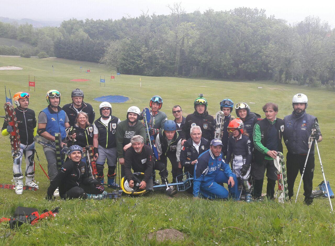 sci d'erba CSEN Rotary Sportdipiù Greenski