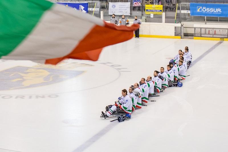 Italia para ice hockey